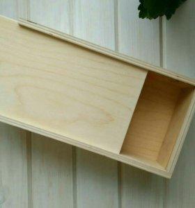 Ящик пенал из дерева