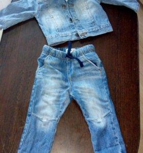 Джиинсы+джинсовка