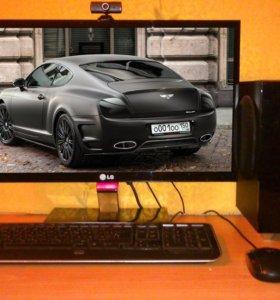 """Мощный Пк + Монитор 22"""" (intel 2Duo + Geforce 2gb)"""