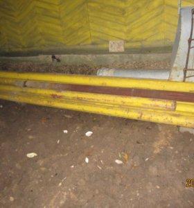 Труба газовая б/у диам.114-4,5 мм.
