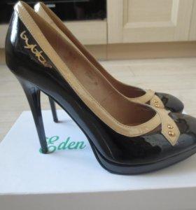 Туфли Eden Flower, нат.кожа, новые