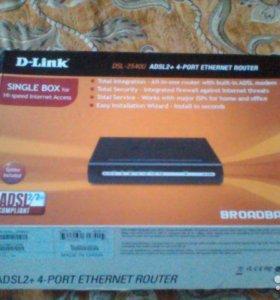 Роутер D-link DSL-2540U