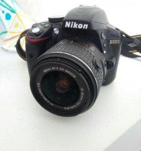 Фотоапарат Nikon D3300