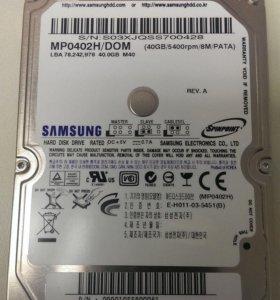 Samsung MP0402H 2.5 IDE для ноутбуков