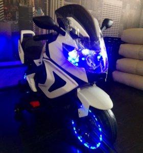 Электромотоцикл новый.