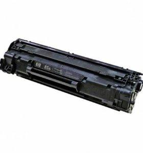Картридж лазерный оригинальный HP CE285A (85A)