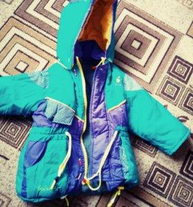 2 курточки на рост 110см по 150р