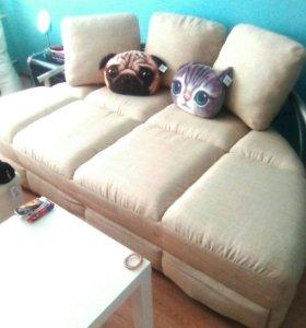 Крутой диван кровать ikea