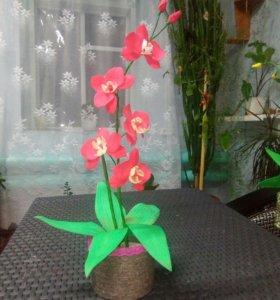 Цветы к 8 марта из фоамирана