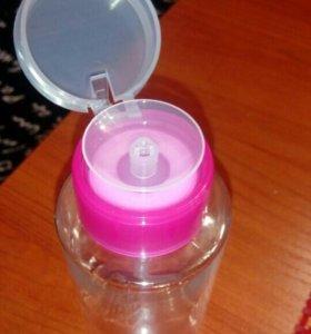 Баночка для жидкости с дозатором