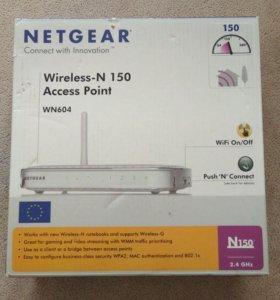 Wi-fi роутер/точка доступа NETGEAR WN604