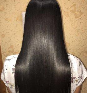 Кератиновое выпрямление/ Ботокс волос.