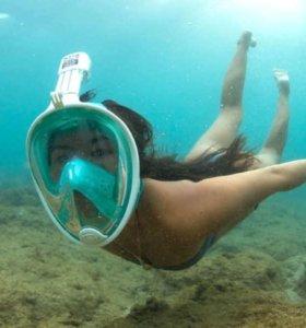 Маска для плавания. снорклинга.