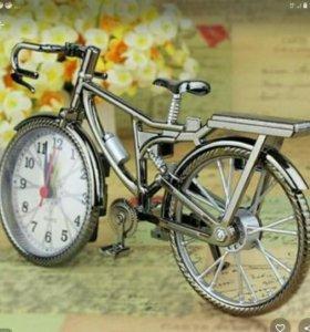 Часы велосипед новые