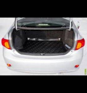 Тойота Королла коврик багажника