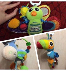 Развивающие игрушки Lamaze,Playgro