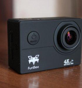 Экшн камера FuriBee F60 4K WiFi