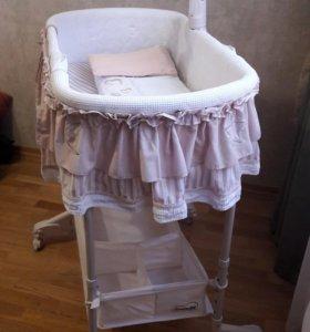 колыбель-качалка для новорождённого