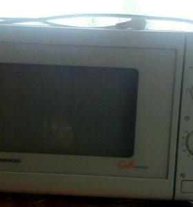 Микроволновая печь DAEWOO.Б/У.