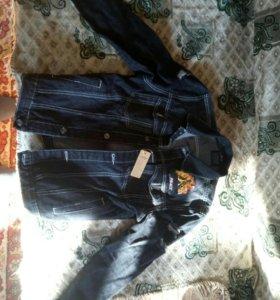 Новая джинсовая куртка palace