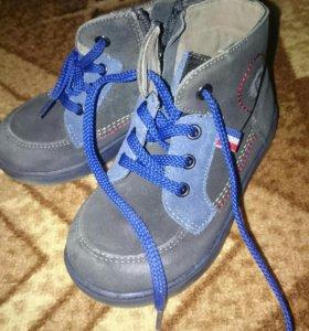 Ботинки весенние для мальчика