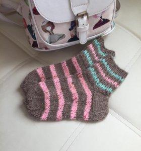 Вязанные носки 🧦