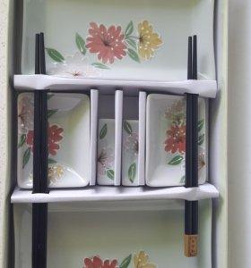 Новый набор посуды для суши