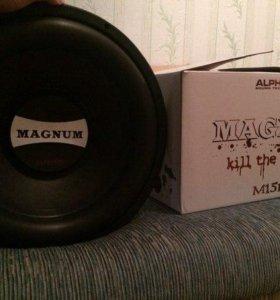 Сабвуфер Alphard Magnum M15 D4