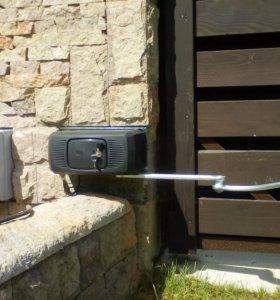 Автоматизация ворот электро приводами