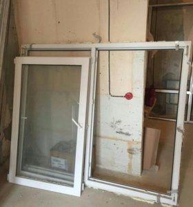 Окно ПВХ 1700х1400 из новостройки