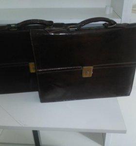 Кожаный портфель Tivoli