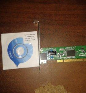 Сетевой PCI-адаптер 10/100 Мбит/с TF-3200