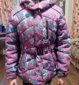 Куртка зима детс.сост.отл.