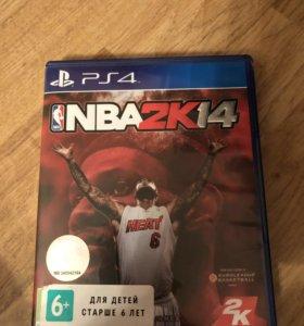 Игра для PS 4 NBA2k14
