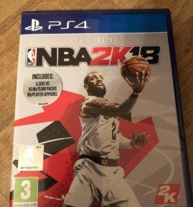 Игра для PS 4 NBA2k18