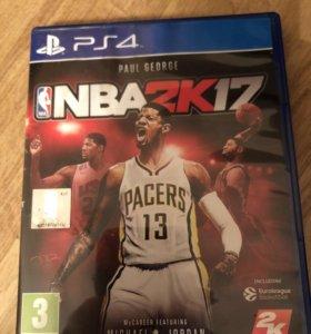 Игра для PS4 NBA2k17