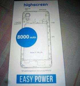 Телефон highscreen EASY POWER