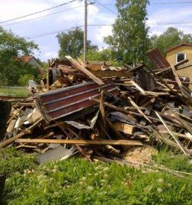 Уборка строительного и бытового мусора.