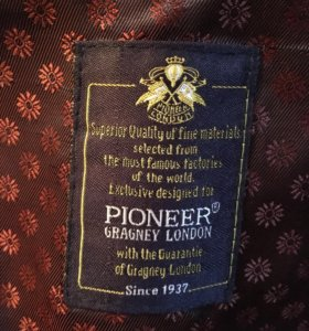 Пальто  мужское Pioneer