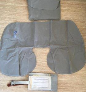 Набор для путешествий (подушка+бирка для багажа)