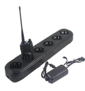 Сетевое зарядное устройство на 6 раций Baofeng