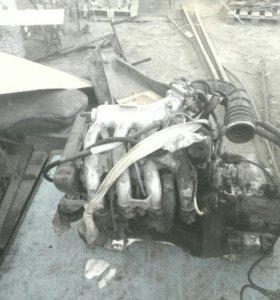 Мотор 16 клапанный рабочий
