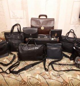 Разные сумки/портфели/барсетки/чемодан