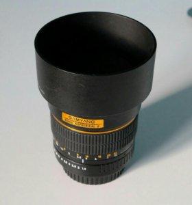 Объектив Samyang 85mm f/1.4 for Canon