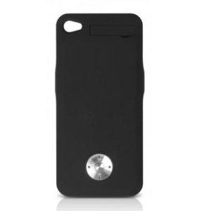 Аккумулятор-чехол DF для iPhone 4/4S S
