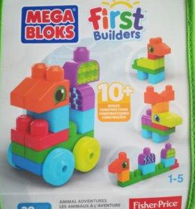 "Конструктор Mega Bloks First Builders ""Животные"" ("