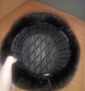 Норковая шапка 58 размер