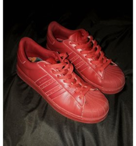 Adidas Superstar Equality Red