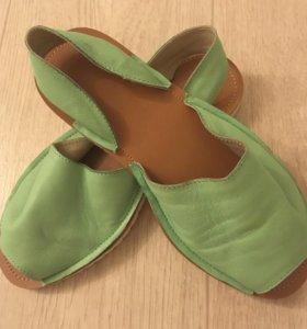 Продам абаркасы новые кожаные