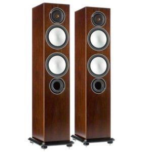 Новые колонки Monitor Audio Silver 6 Walnut